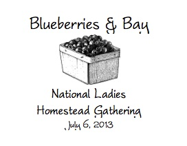 Blueberries & Bay Canning Recipe