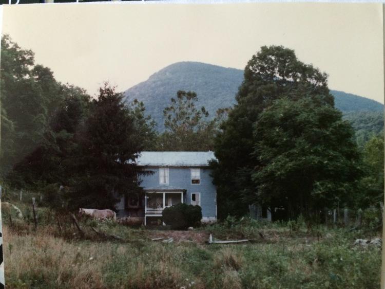 The farmhouse circa 1984