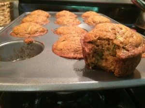 Zucchini Muffins :: A great birthday breakfast!